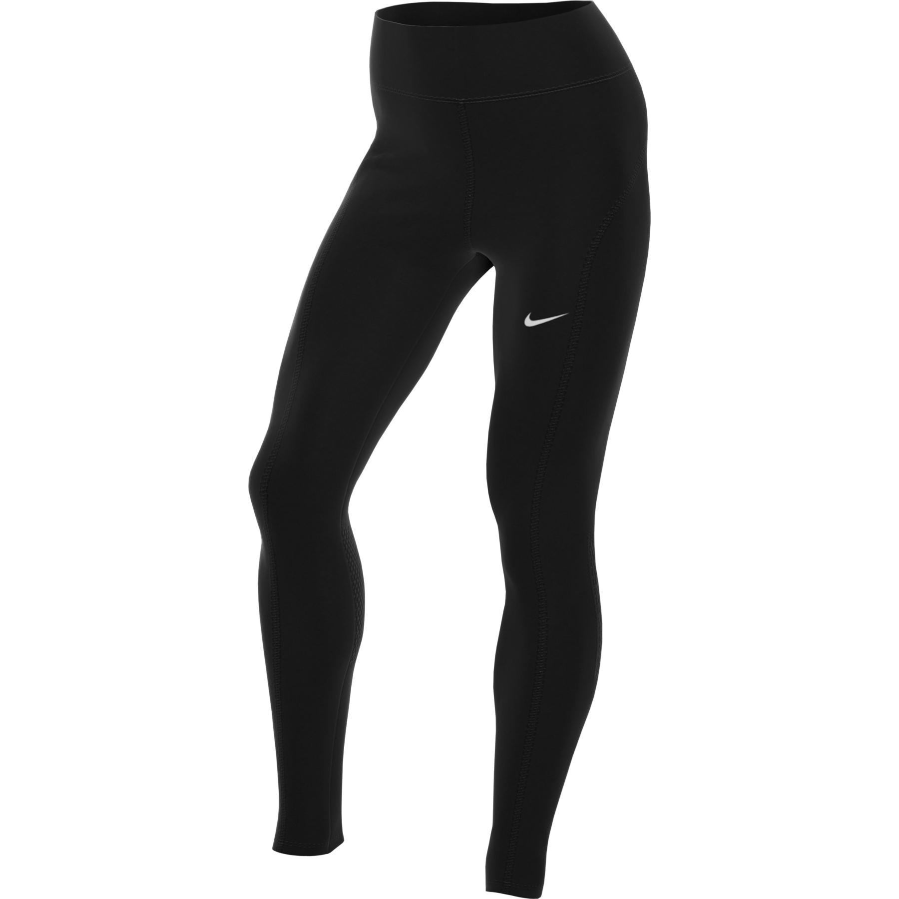 Nike Epic Fast Damen-Lauftights - black/reflective silver CZ9240-010