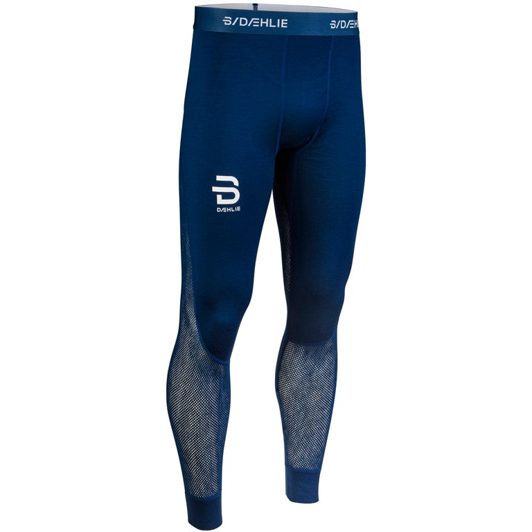 Daehlie Airnet Wool Pants Underpants - estate blue 25300