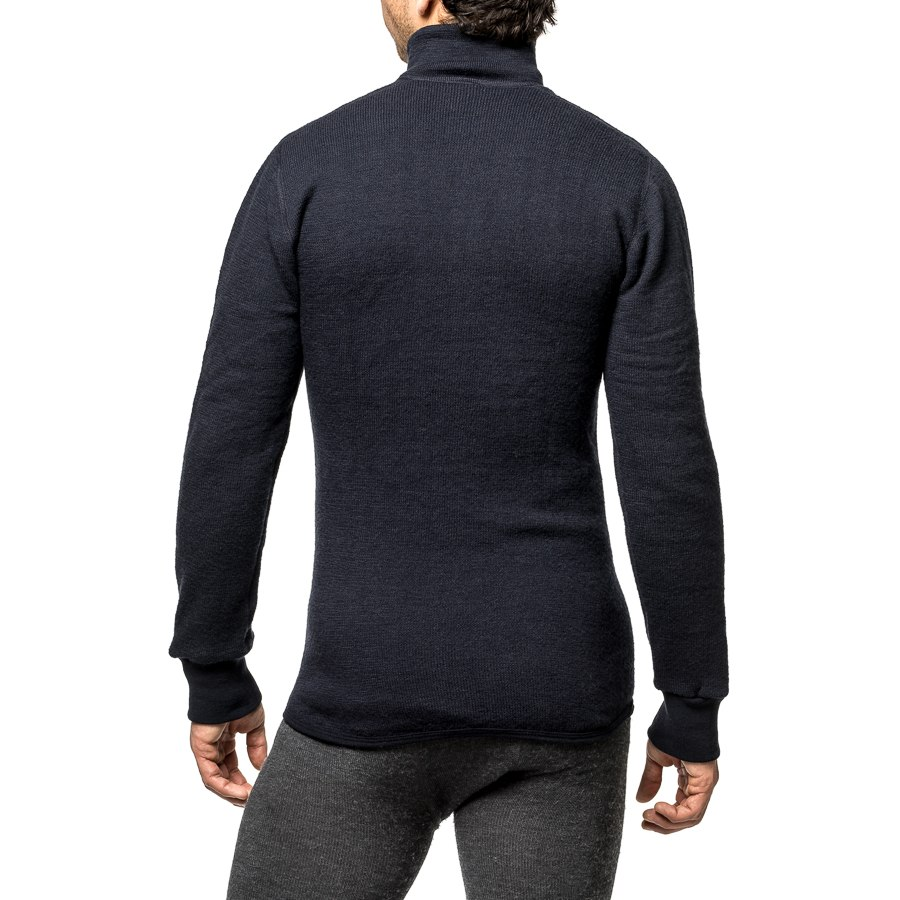Bild von Woolpower Zip Turtleneck 400 Langarm-Shirt - navy