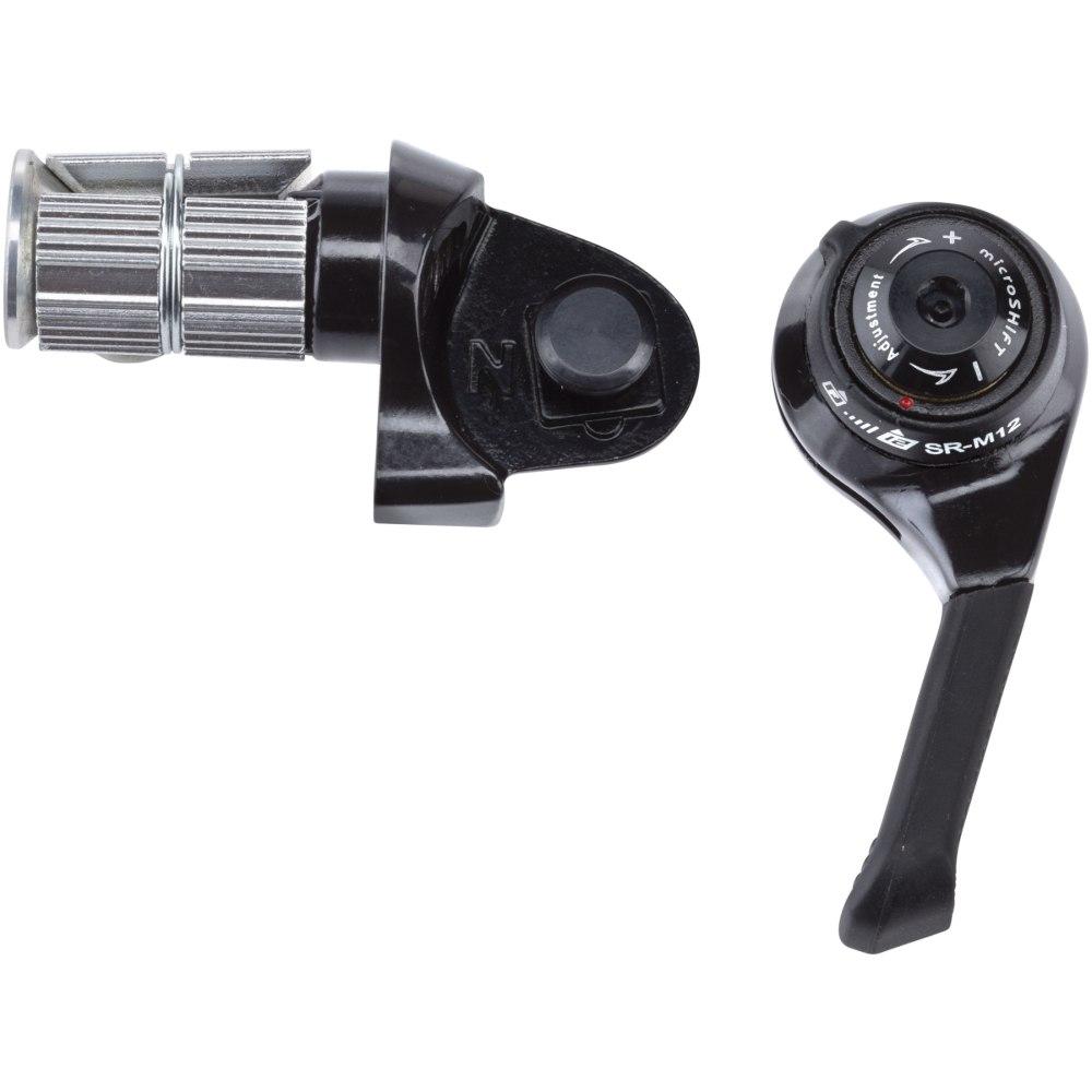 microSHIFT BS-SR-M12 Lenkerendschalthebel - SRAM 12-fach
