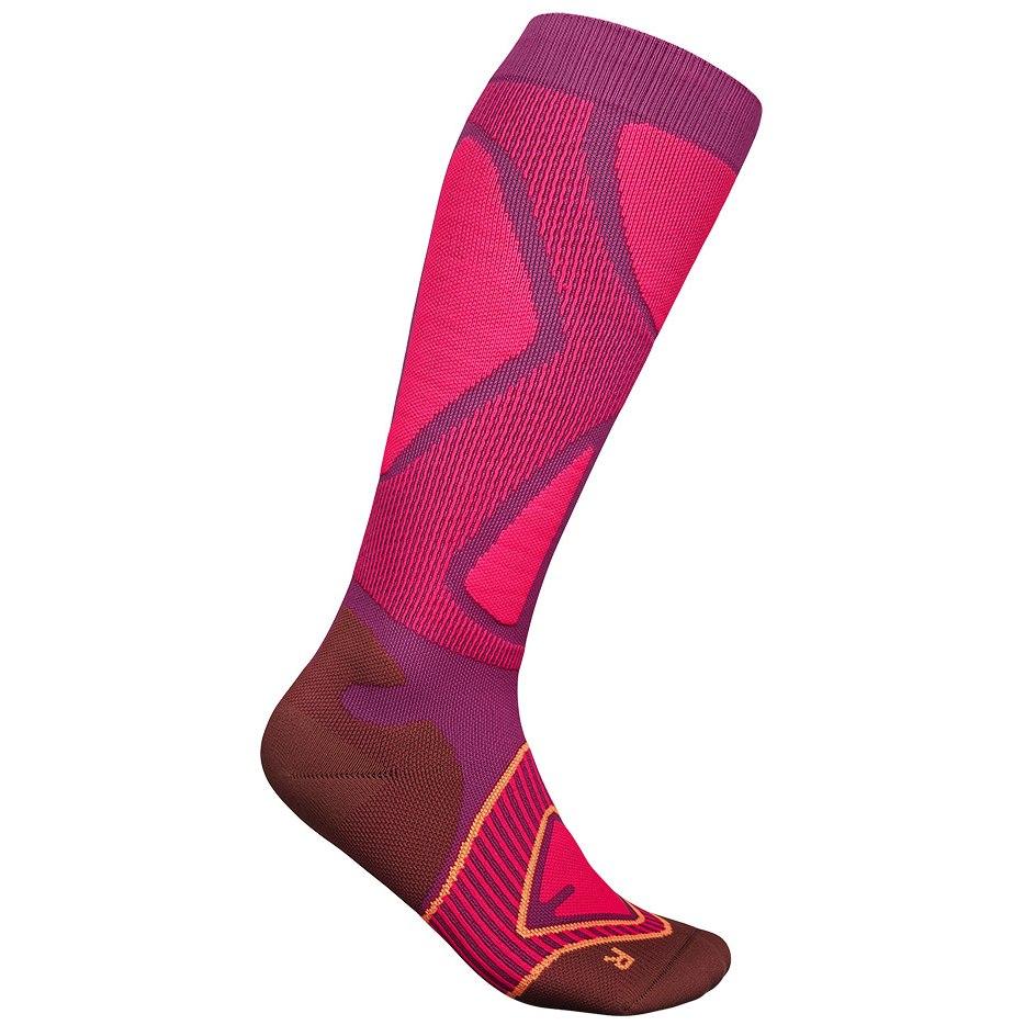 Bauerfeind Ski Performance Compression Socks Women - pink S