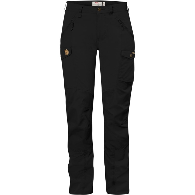 Fjällräven Nikka Curved Women Trousers - black
