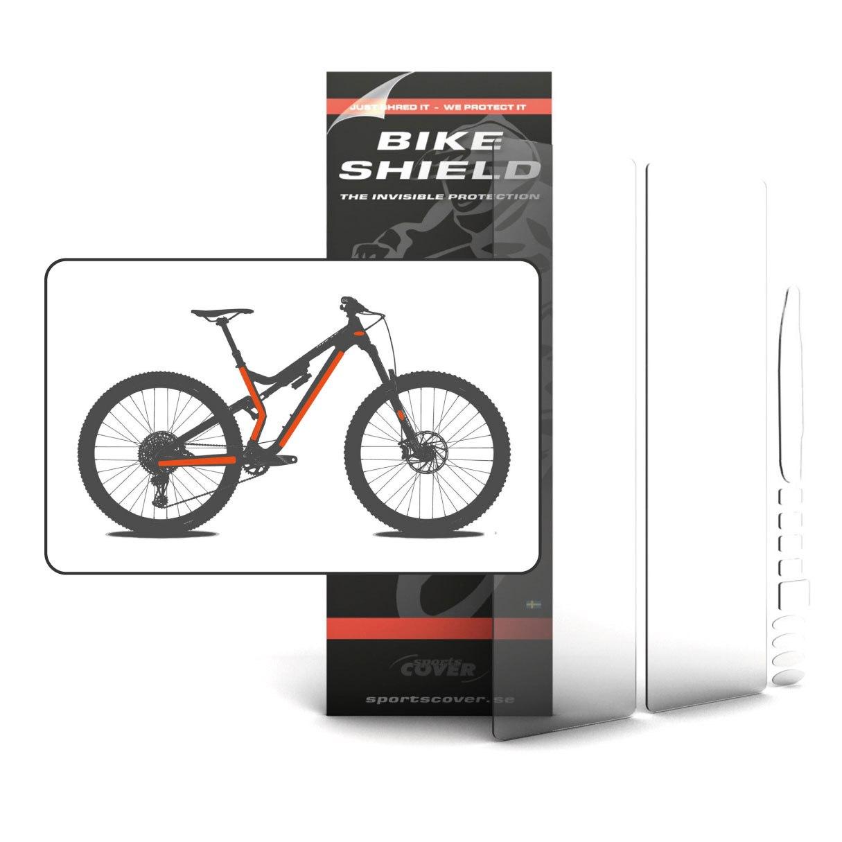 BikeShield Fullpack Oversize Frame Protection 12 pieces - standard