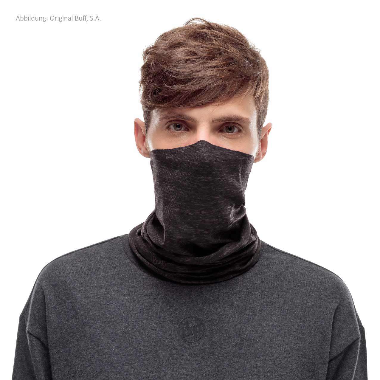 Image of Buff® Filter Tube Facial Mask - Graphite Htr