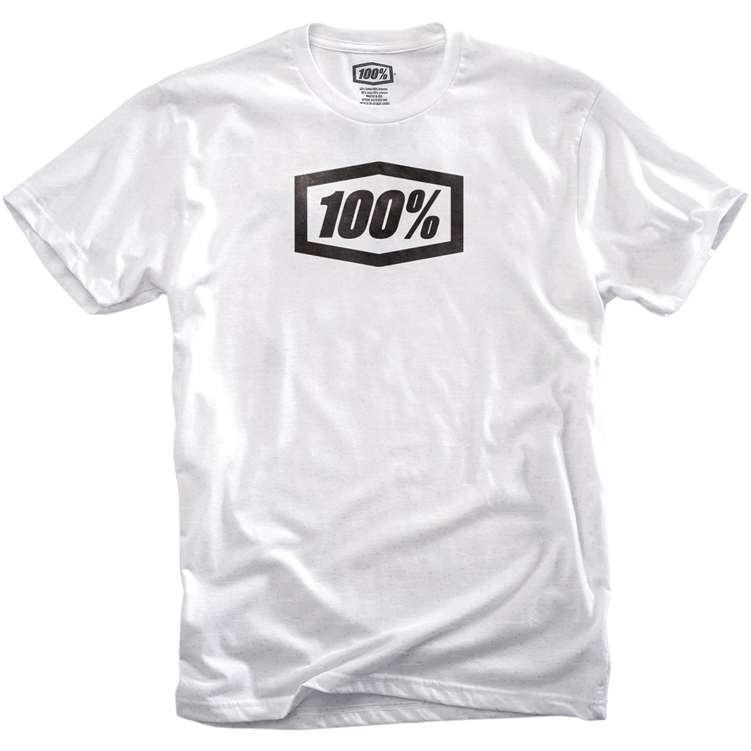 100% Essential Camisa - blanco