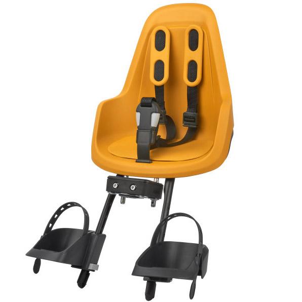 Bobike ONE mini Child Bike Seat - Mighty Mustard