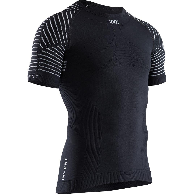 X-Bionic Invent 4.0 LT Shirt Round Neck Kurzarm-Unterhemd für Herren - opal black/arctic white