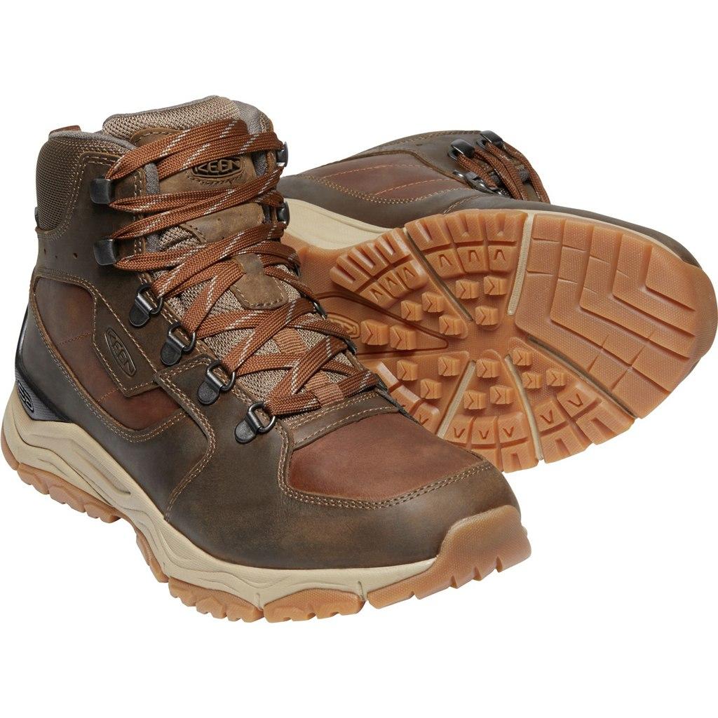 KEEN Innate Leather Mid Waterproof Men's Hiking Ankle Boot - Musk