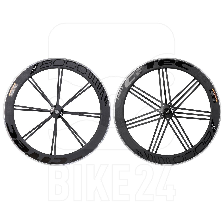 CITEC 8000 SL / 63 Ultra 28 Inch Wheelset - Clincher - 9x100mm QR - black