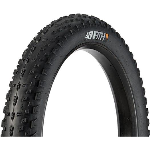 45NRTH Hüsker Dü Fatbike Folding Tire - Tubeless Ready - 26x4.0 Inch - 120TPI