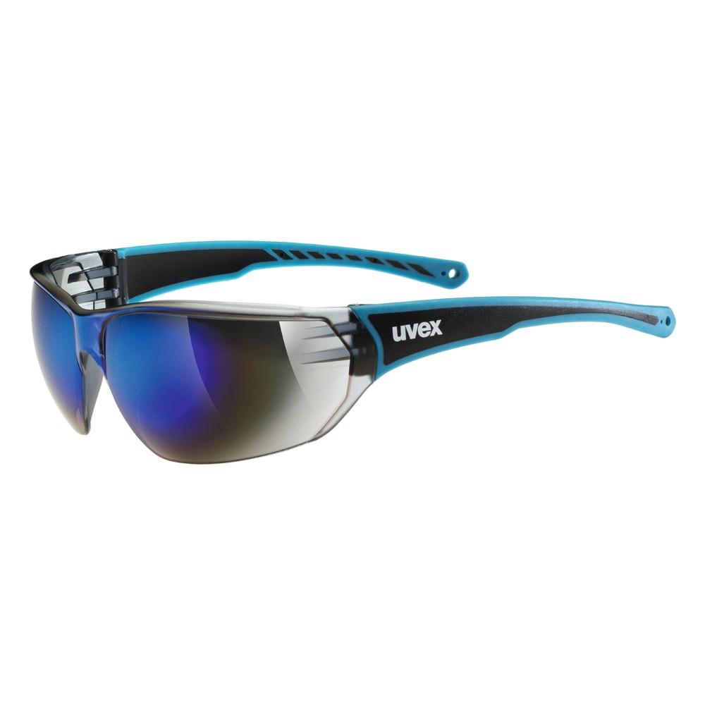 Uvex sportstyle 204 - blue/mirror blue Brille
