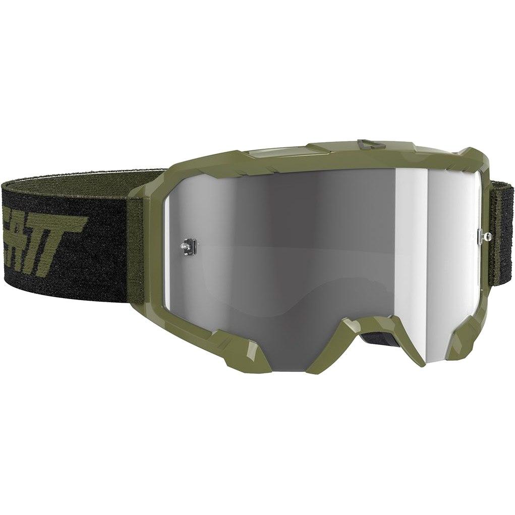 Bild von Leatt Velocity 4.5 Goggle Brille - forest / light grey - anti fog lens