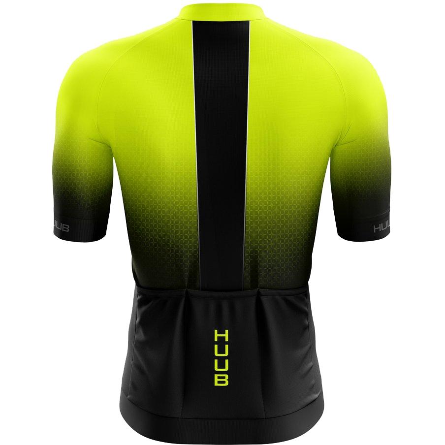 Bild von HUUB Design Core 3 Kurzarm-Trikot - schwarz/fluo gelb