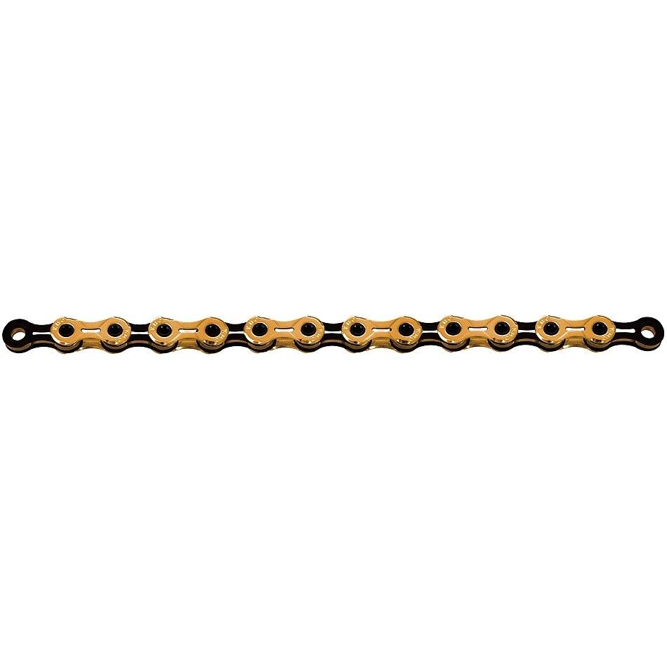KMC X11SL Ti-N Chain - 11-speed - gold/black
