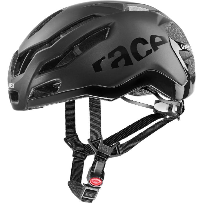 Uvex race 9 Helmet - all black mat