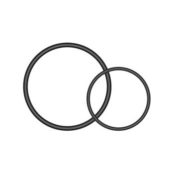 Image of Garmin Varia Universal Seat-post Quarter Turn Mount O-rings - 010-10644-13