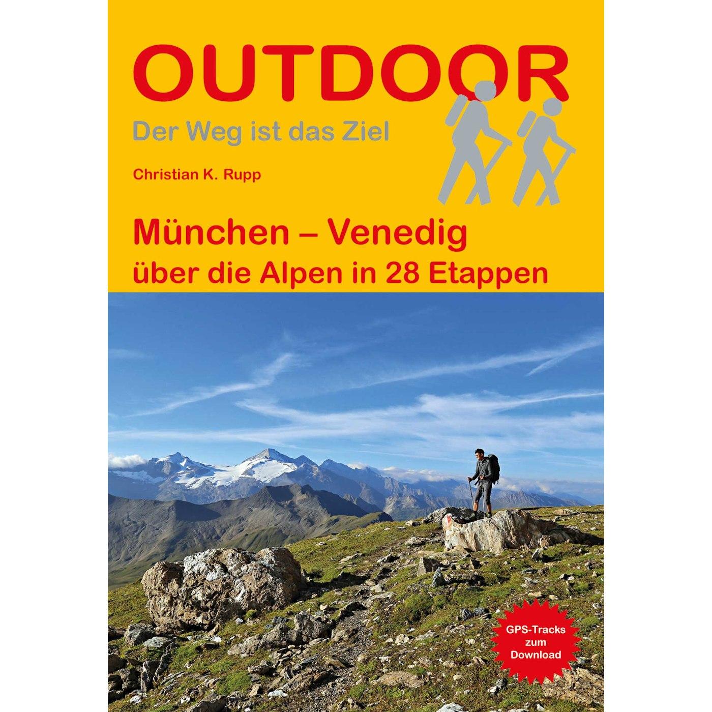 München – Venedig über die Alpen in 28 Etappen