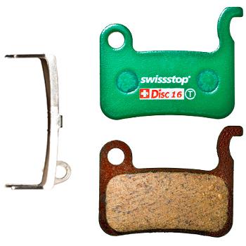 SwissStop Disc 16 Brake Pads for Shimano XTR / XT / SLX / LX / Deore / Alfine / Saint / Hone / TRP Dash