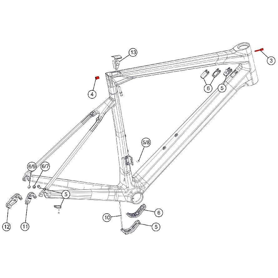BMC Cable Stopper Kit #1 - 301105