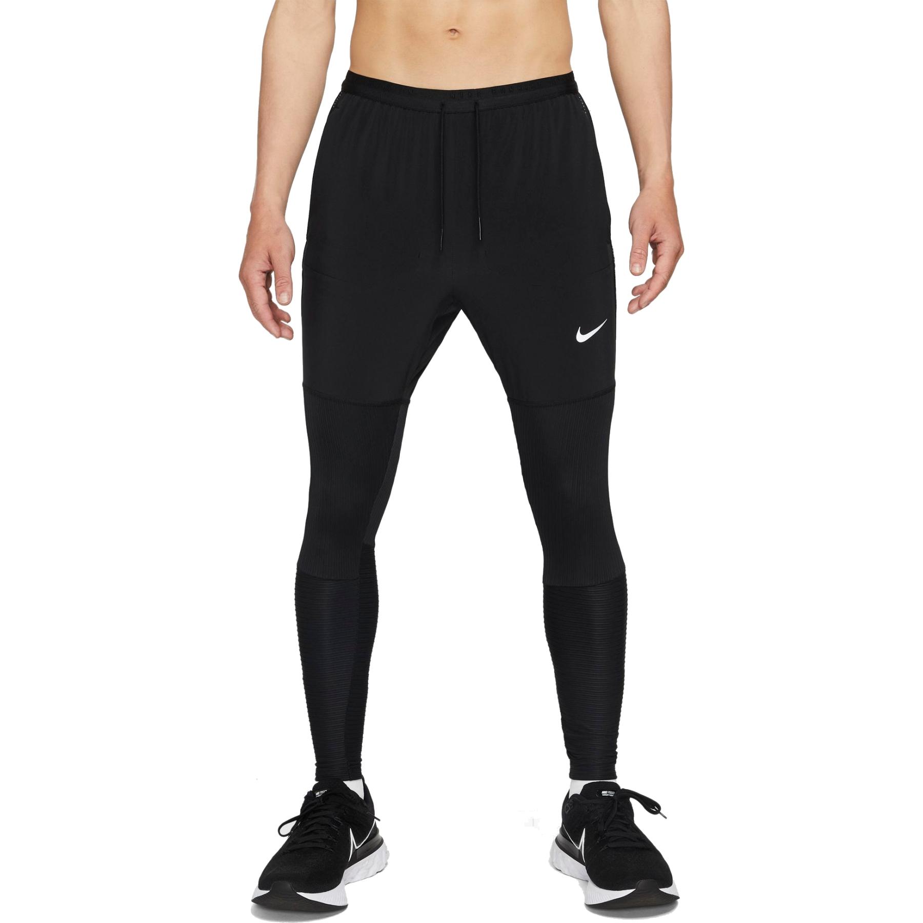 Nike Dri-Fit Phenom Run Division Hybrid Pantalon para Hombre - black/black/reflective silver DD4878-010