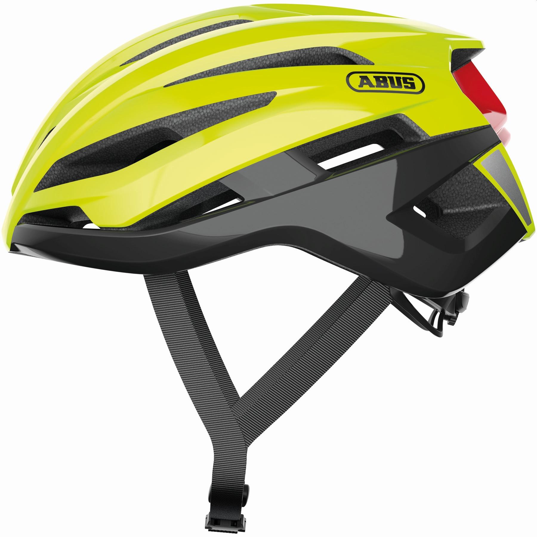 ABUS StormChaser Casco Carretera - neon yellow