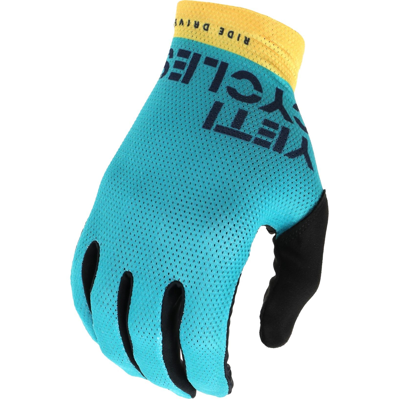 Yeti Cycles Enduro Gloves - Turquoise