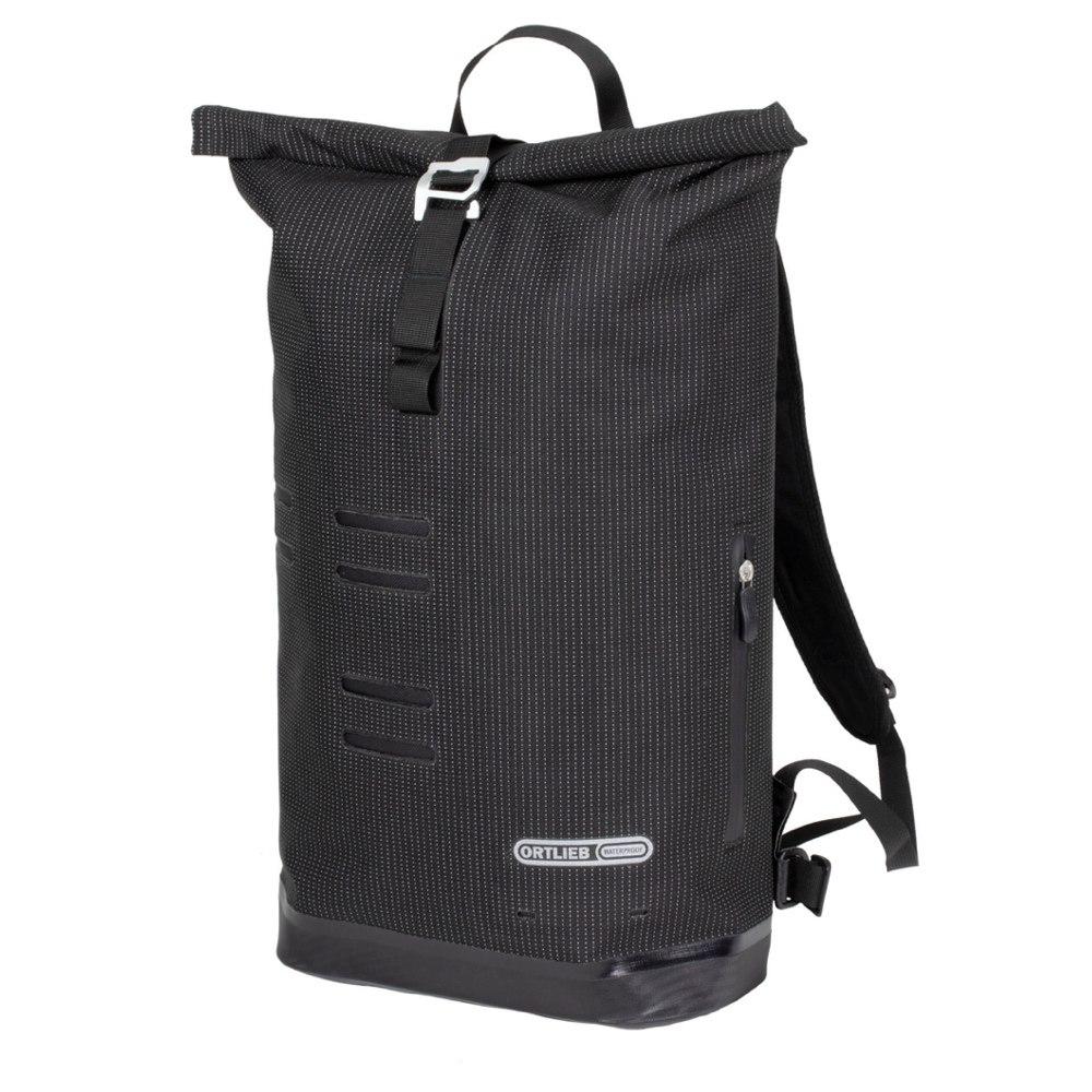 Produktbild von ORTLIEB Commuter-Daypack High Visibility Rucksack - black reflective