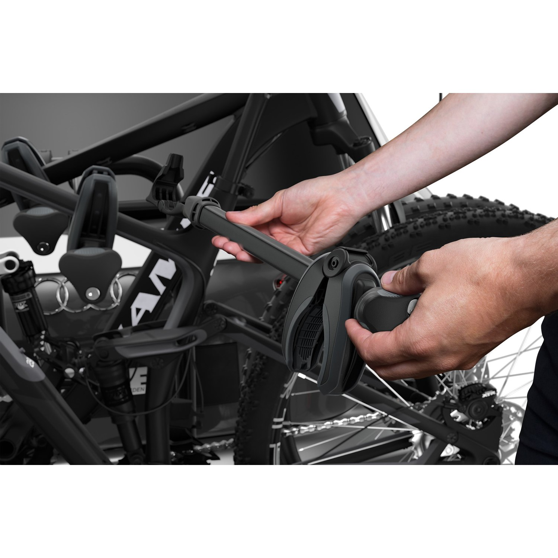 Image of Thule EasyFold XT 3 Bike Rack for three Bikes - Black