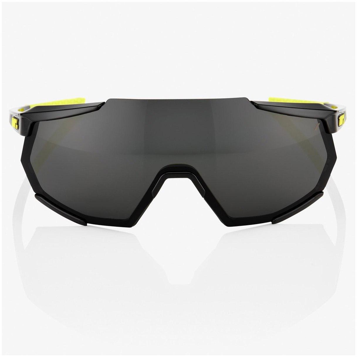 Imagen de 100% Racetrap Glasses - Gloss Black/Smoke + Clear