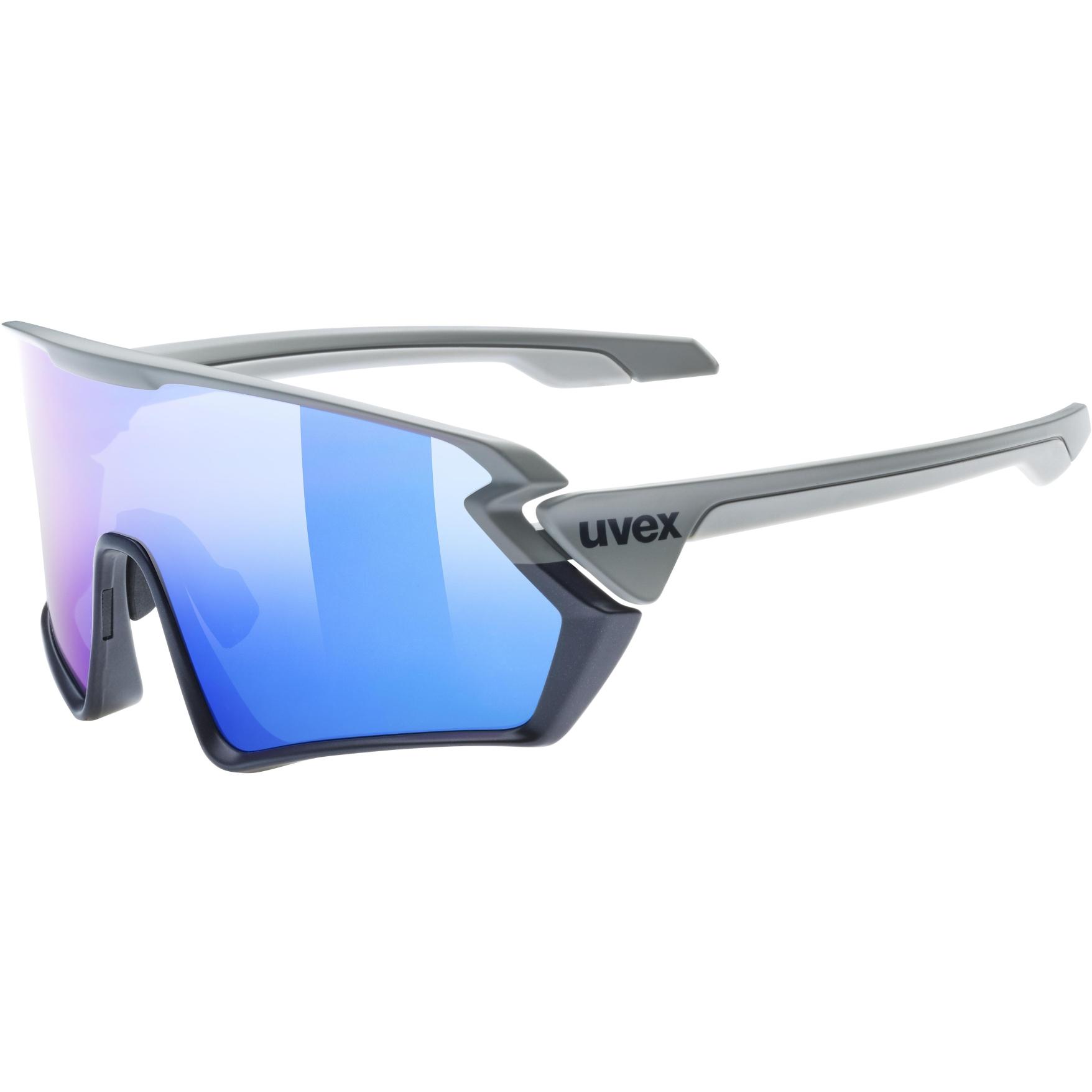 Uvex sportstyle 231 Glasses - rhino deep space mat/mirror blue