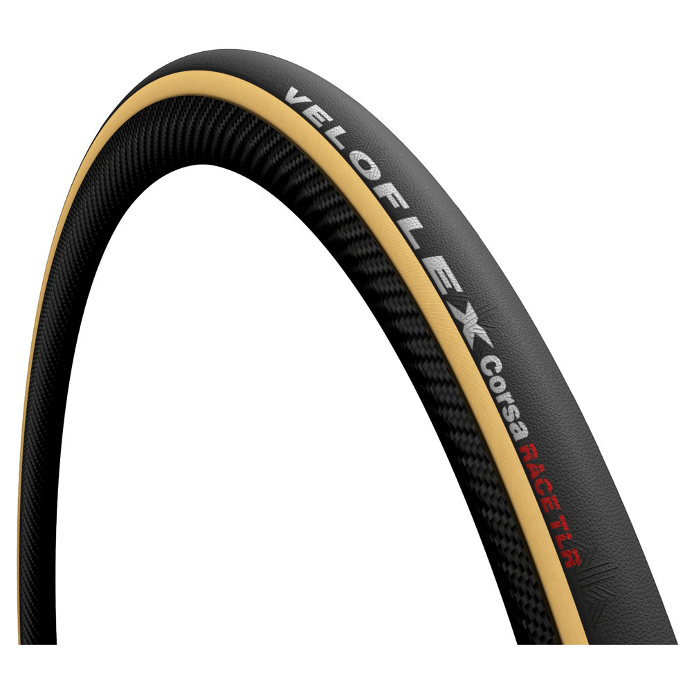 Veloflex Corsa Race TLR Faltreifen - 25-622 - black / gum sidewall
