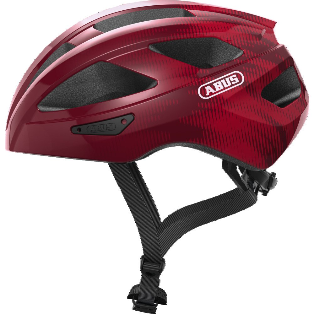 ABUS Macator Helmet - bordeaux red