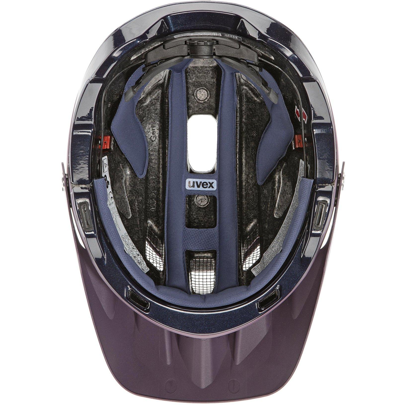Bild von Uvex quatro integrale Helm - plum - deep space mat
