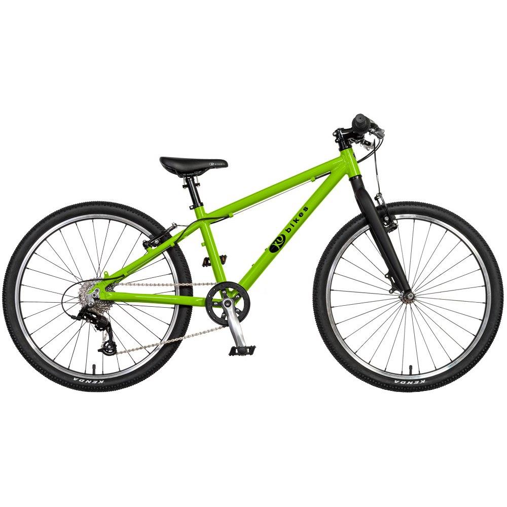 KUbikes 24L MTB 8-Gang Kinderfahrrad - grün
