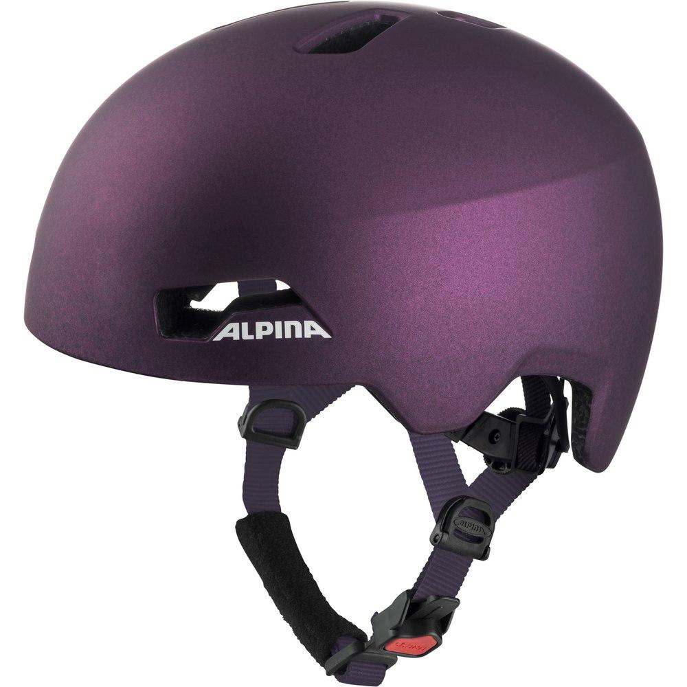 Alpina Hackney Kids Helmet - dark-violet