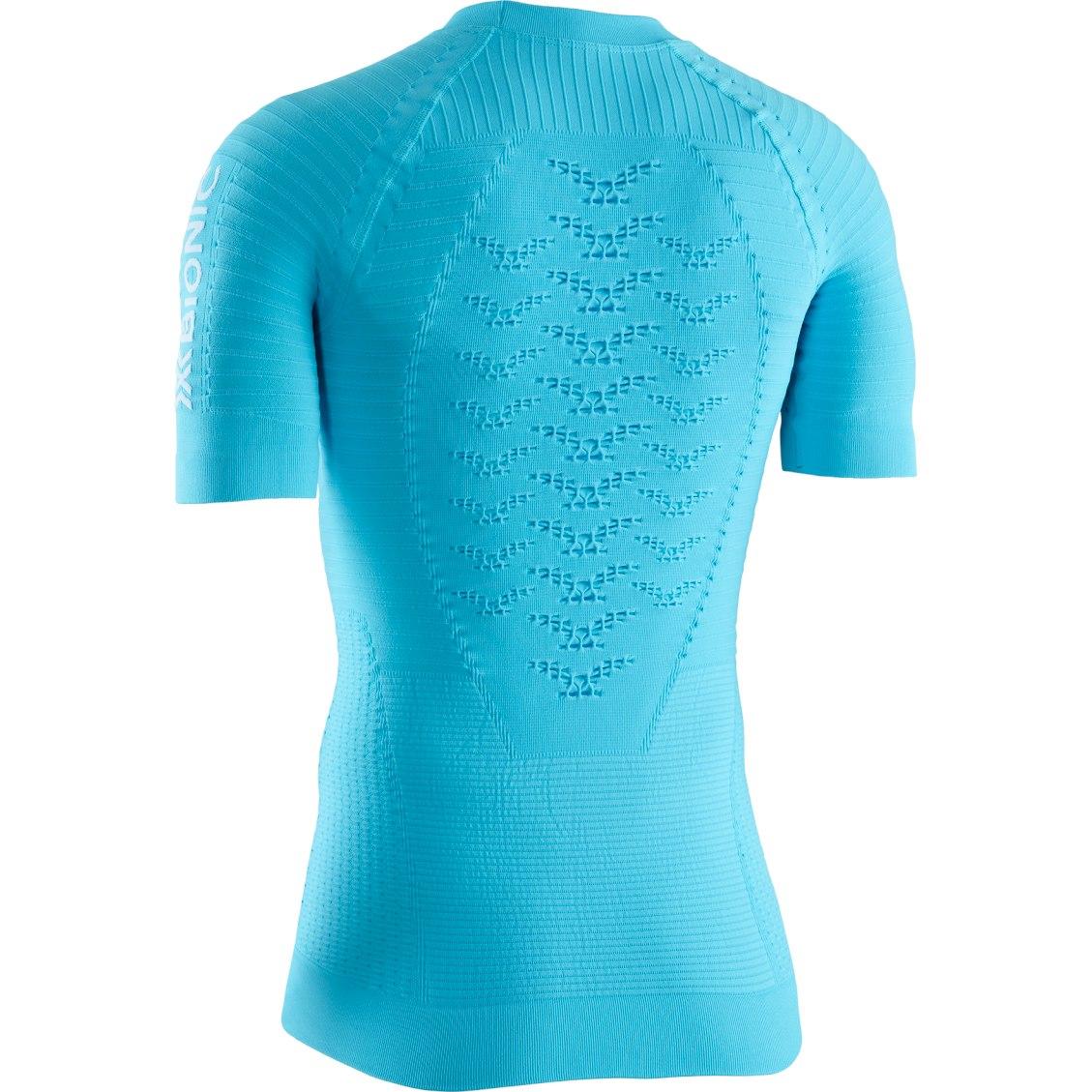 Bild von X-Bionic Effektor 4.0 Run Kurzarm-Laufshirt für Damen - effektor turquoise/arctic white