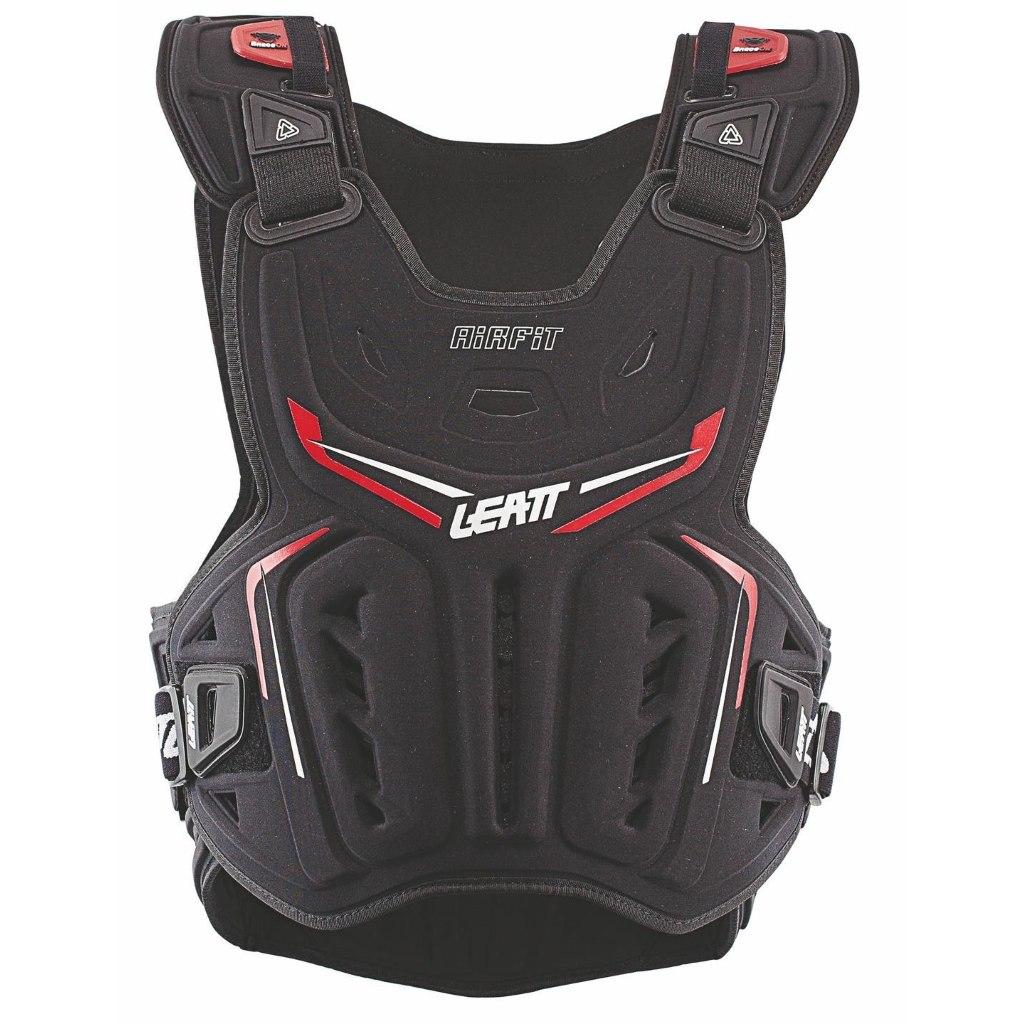 Produktbild von Leatt Chest Protector 3DF AirFit - schwarz/rot