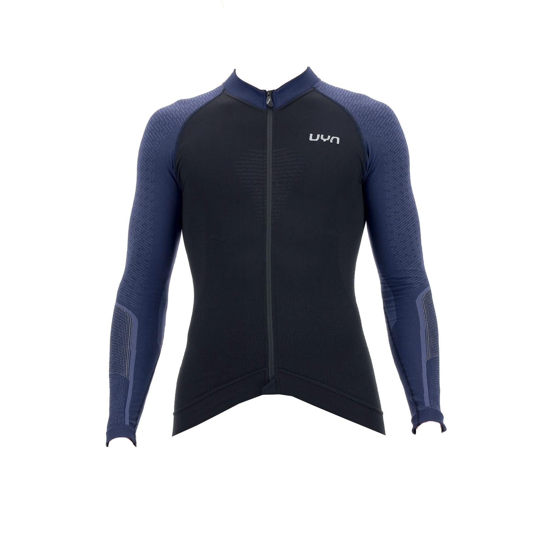 UYN Biking Granfondo Long Sleeve Jersey - Blackboard/Peacot