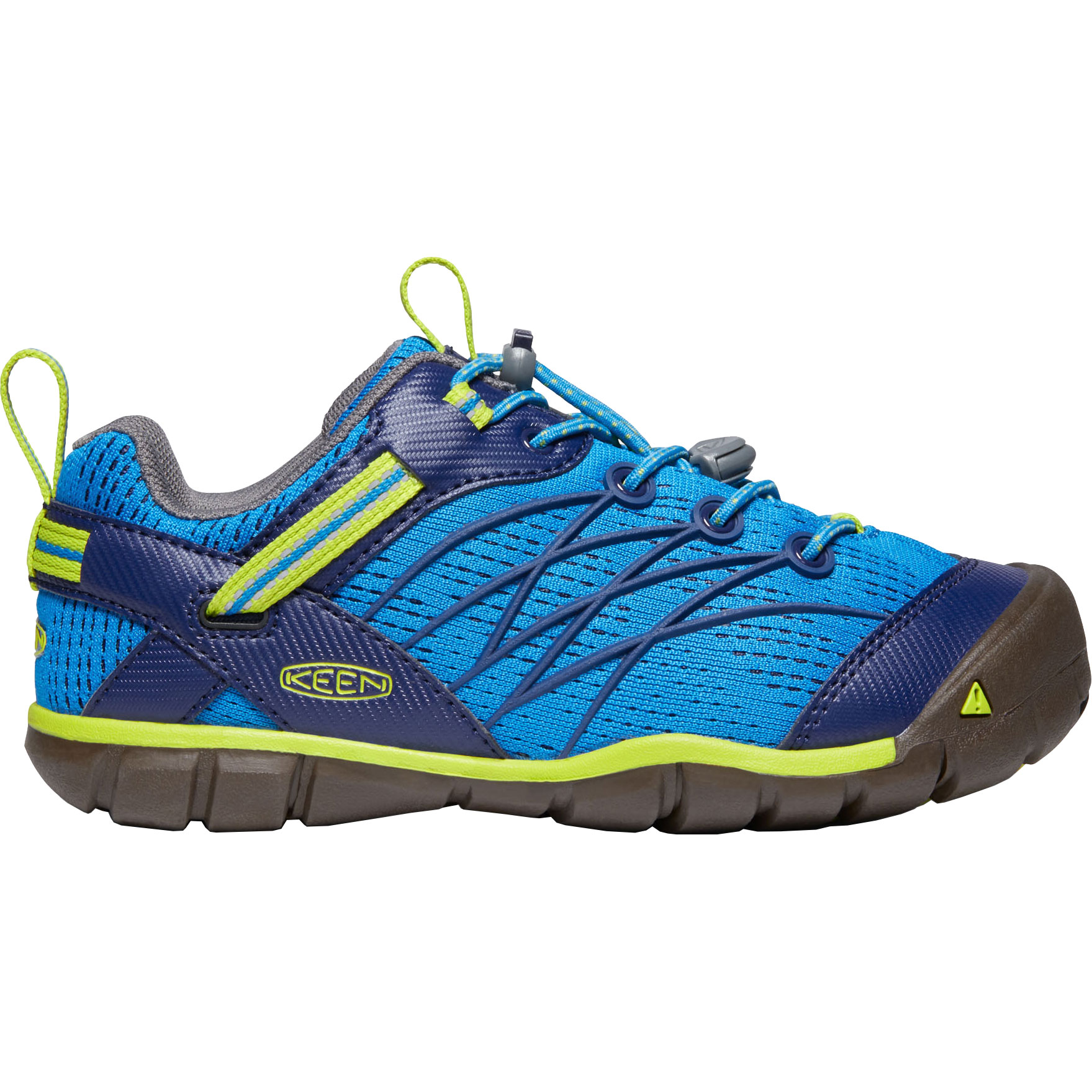 KEEN Chandler CNX Youth Shoes - brilliant blue/blue depths