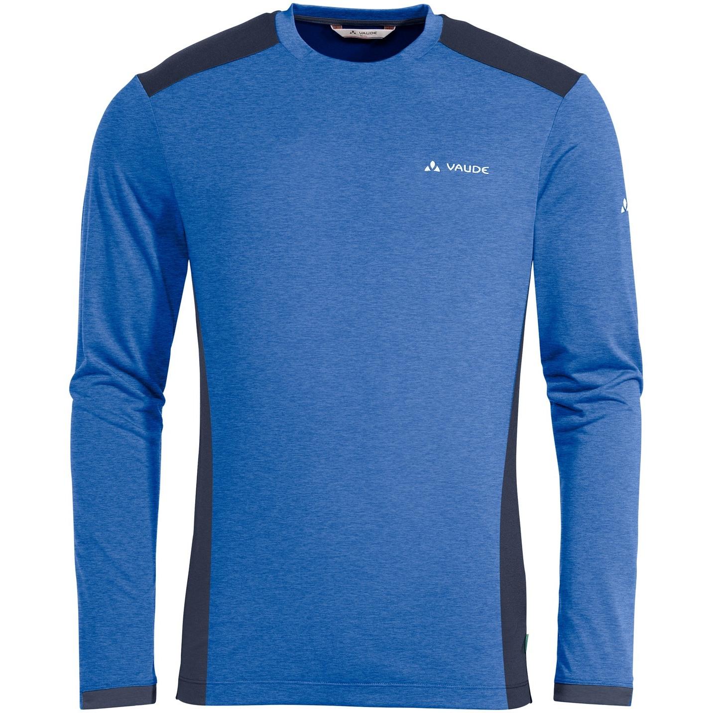 Vaude Sveit Langarm T-Shirt  II - signal blue