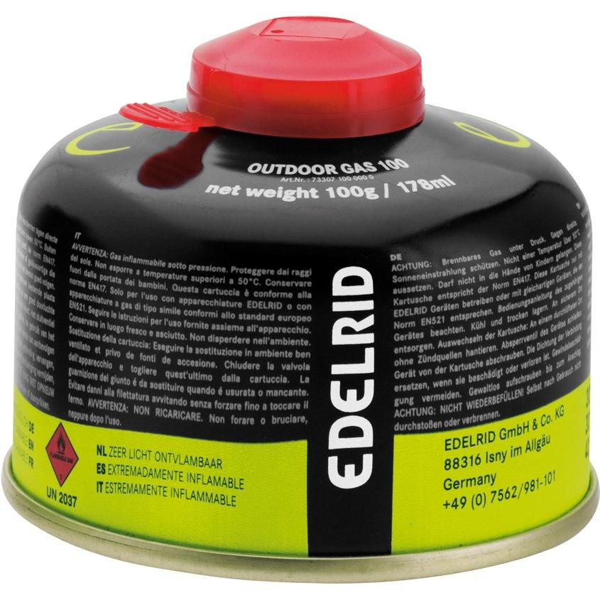 Edelrid Outdoor Gas 100 Threaded Gas Cartridge