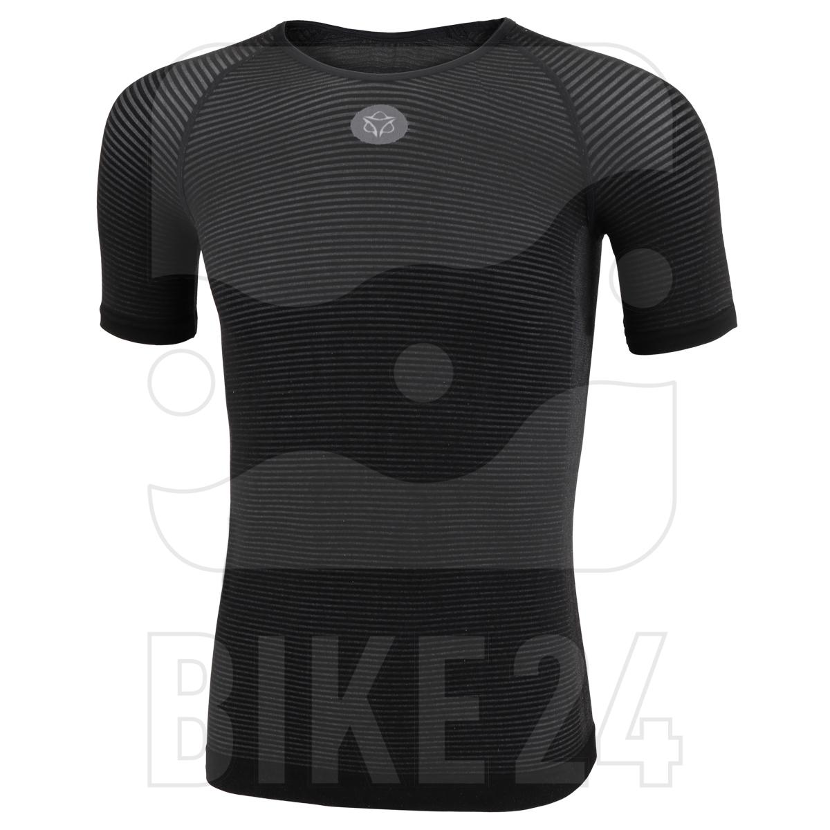 AGU Essential Summerday Base Layer Shortsleeve Shirt Unisex - black