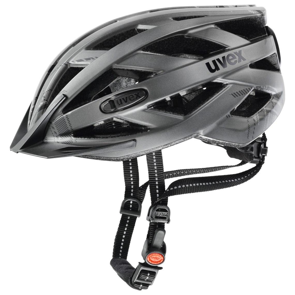 Uvex city i-vo - Helmet - darksilver mat-black