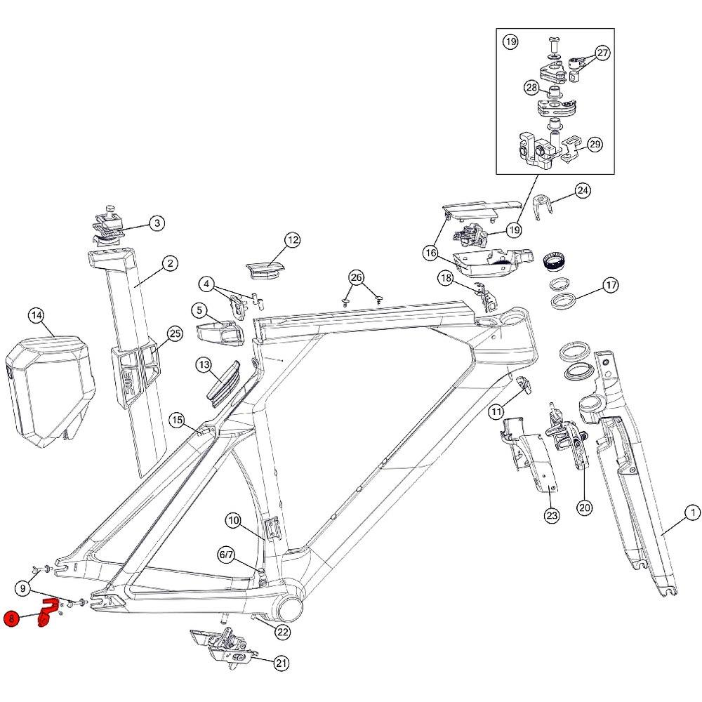 BMC Derailleur Hanger #36 - 210544