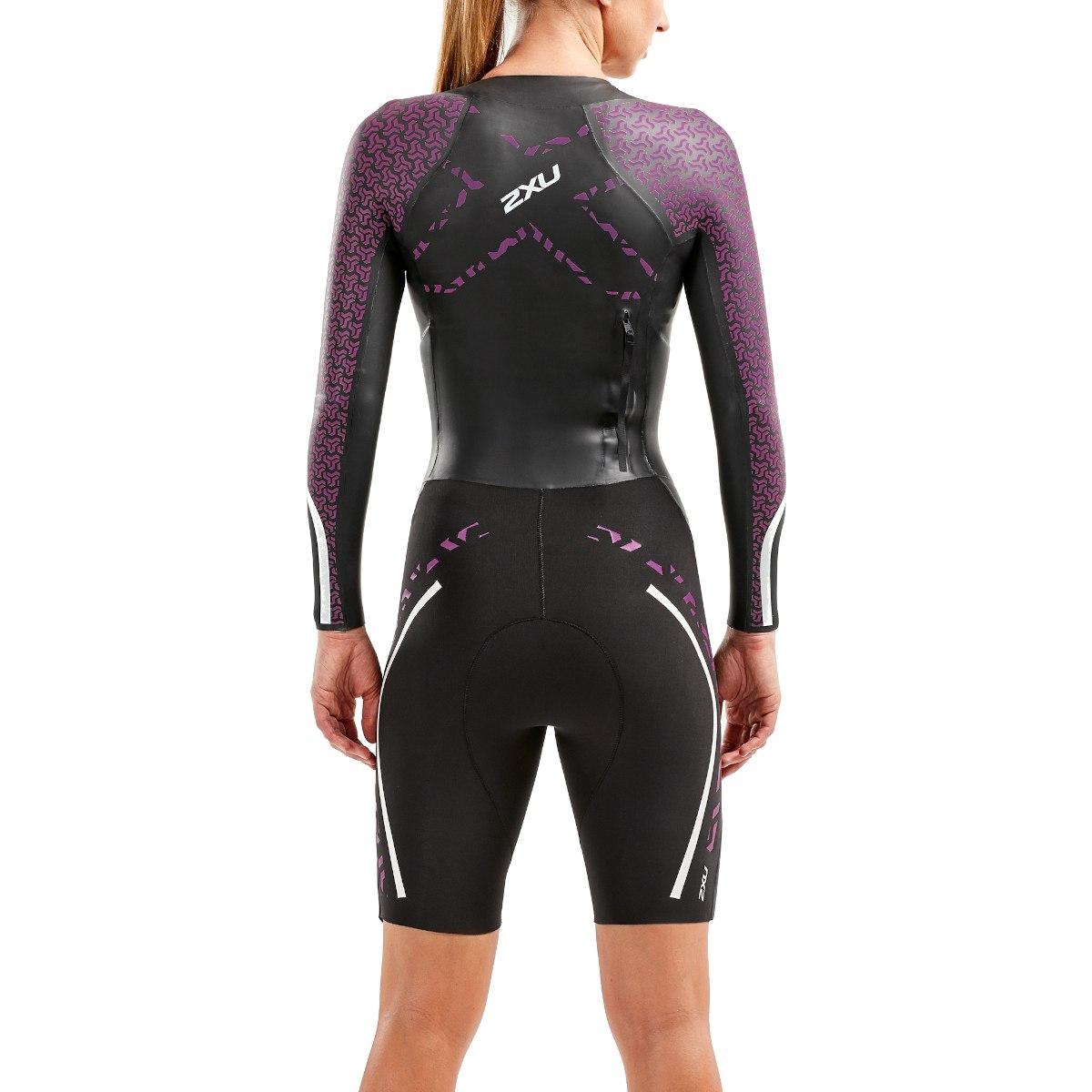 Imagen de 2XU SR:Pro Swimrun Pro Wetsuit - black/very berry
