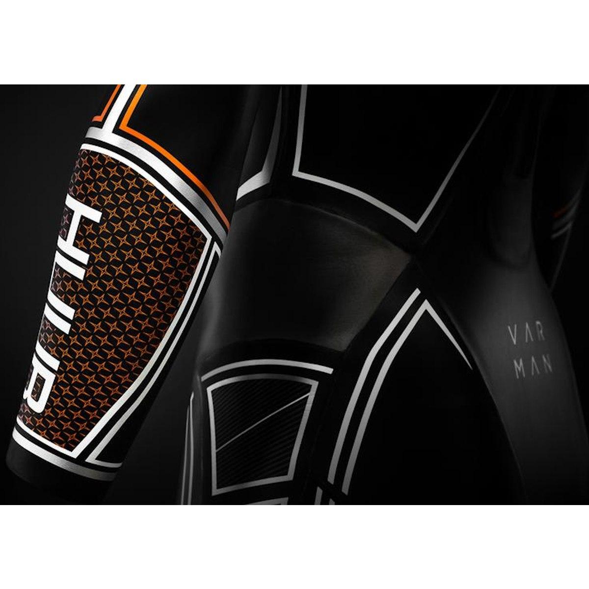 Bild von HUUB Design Varman 3:5 Triathlon Wetsuit Neoprenanzug - schwarz/orange