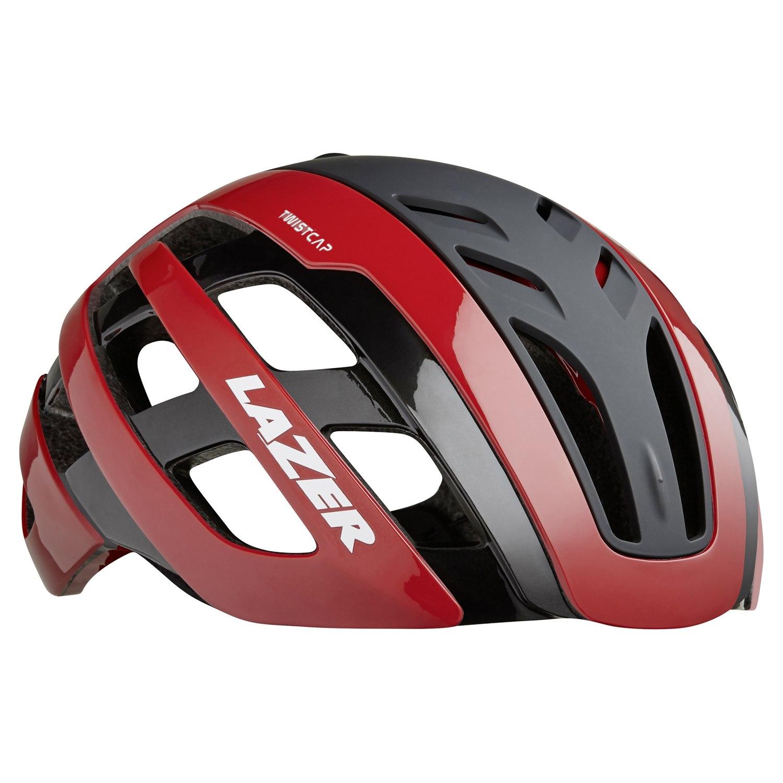 Lazer Century Helmet - red black