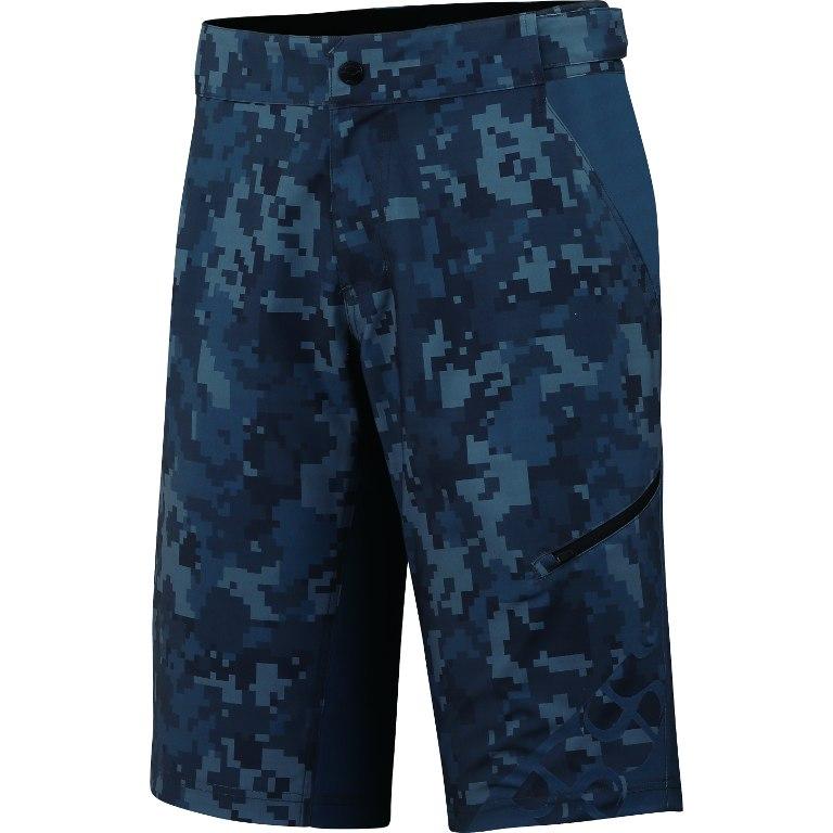 iXS Culm Kids Shorts - camo-graphite