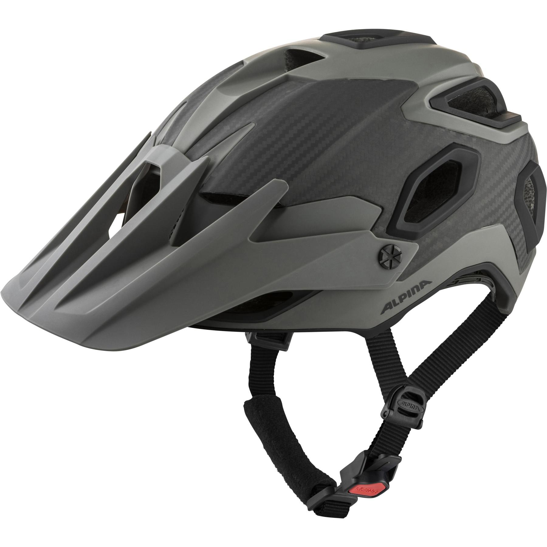 Alpina Rootage Helmet - coffee-grey matt