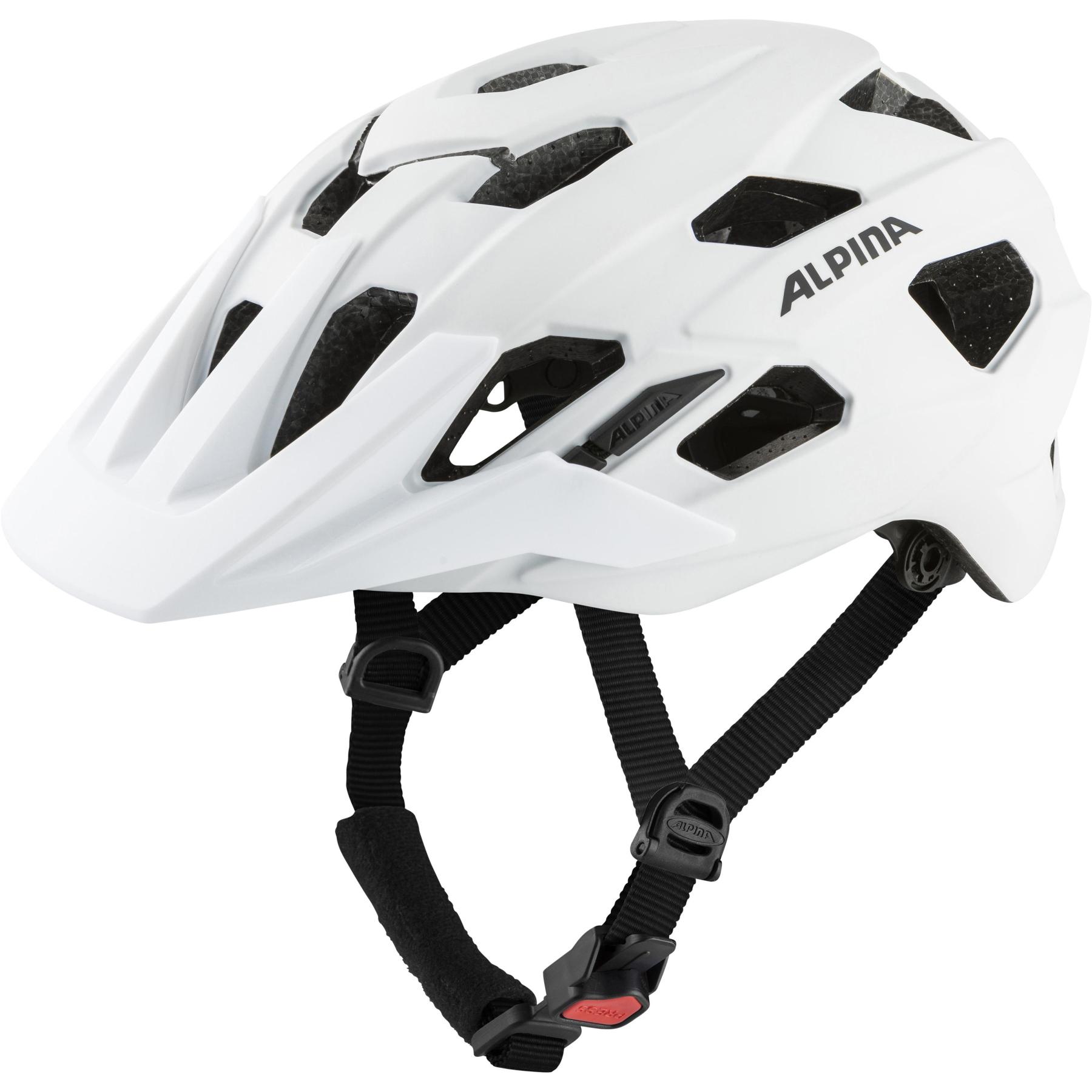Alpina Plose Mips Helmet - white matt
